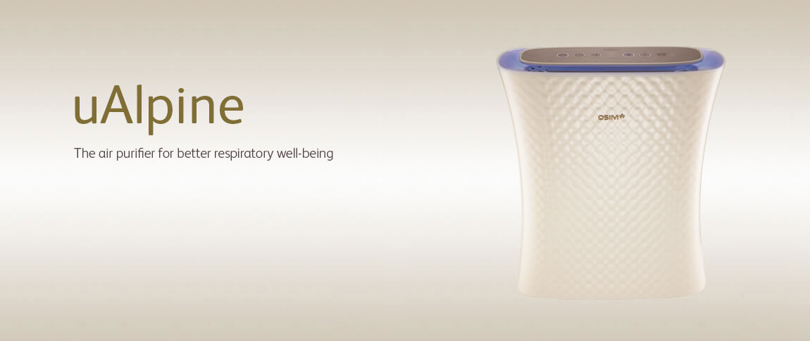 OSIM uAlpine - Air Purifier Supplier