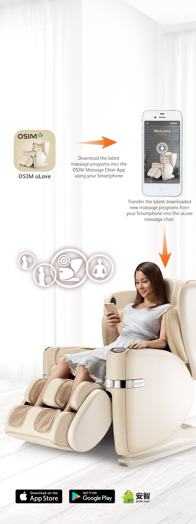 Ulove Massage Chair Download App Programs Mobile