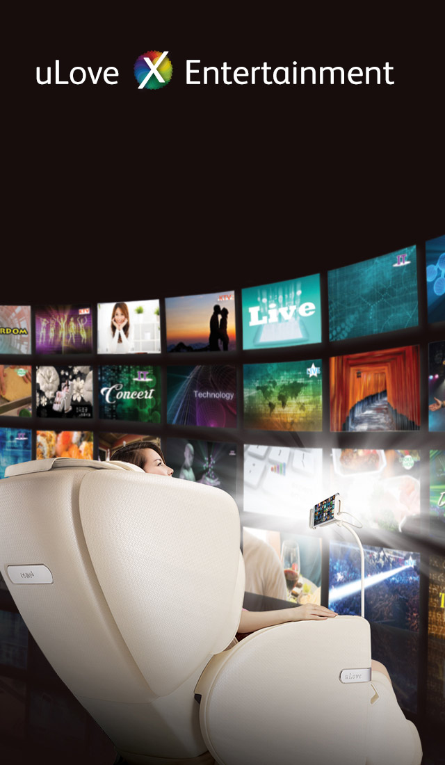 Ulove Massage Chair Entertainment Mobile