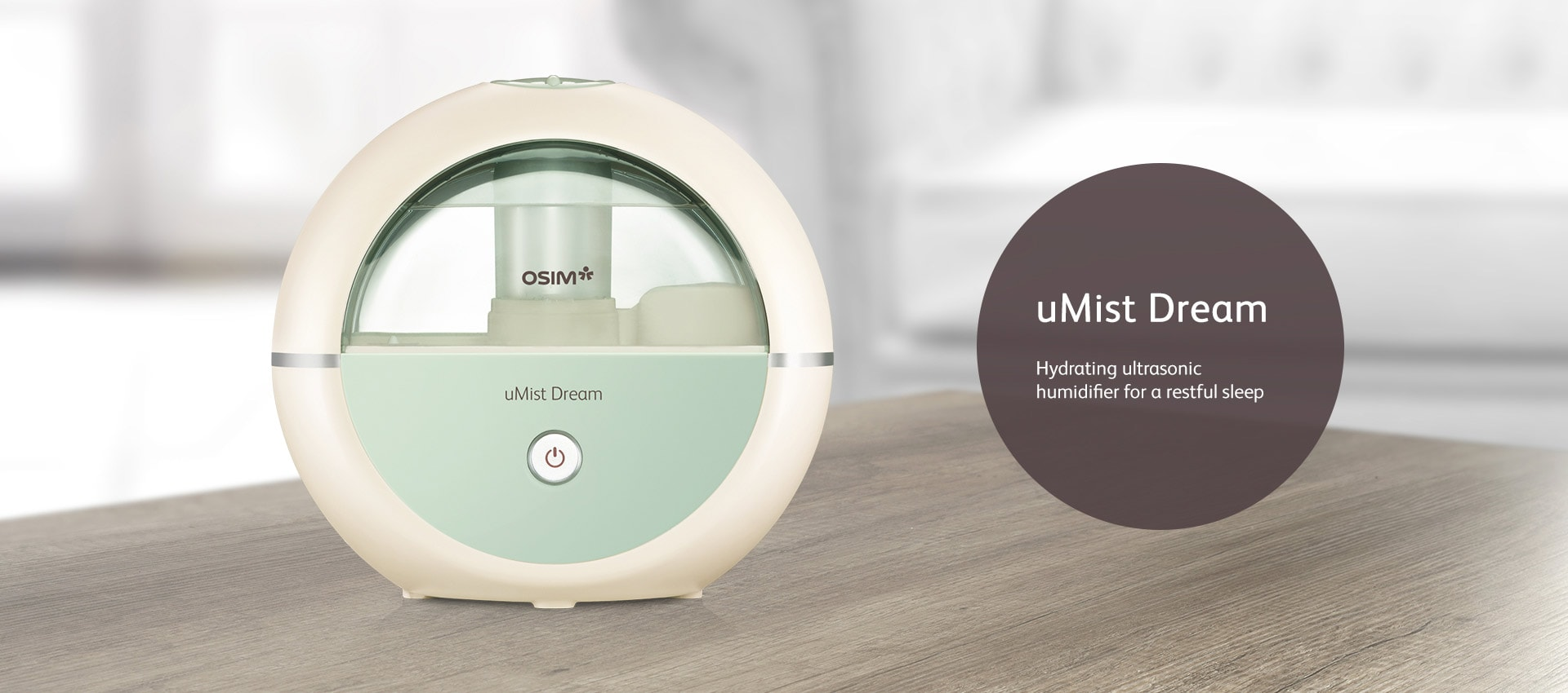 Umist Dream Humidifier Ultrasonic Technology