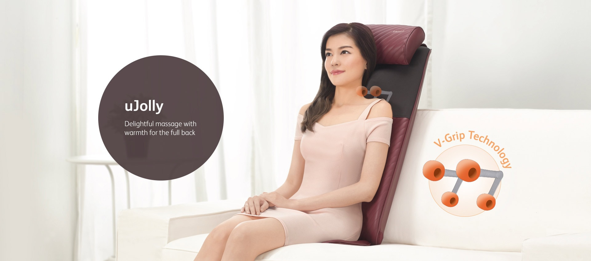 Ujolly Full Back Massager With Warmth