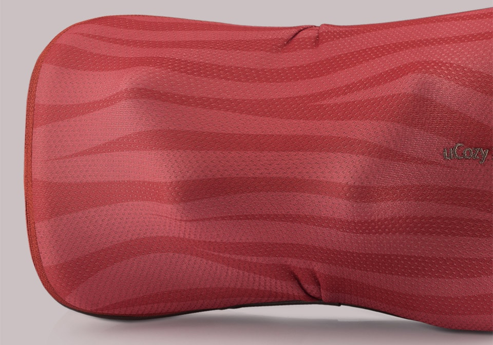 Ucozy 3d Shoulder Massager Stripes Red Beauty 4 Stripes