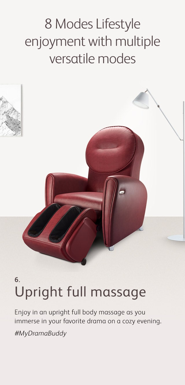 Udiva2 Massage Chair Mode 6 Full Body Massage M