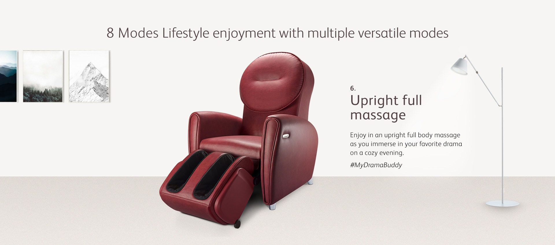 Udiva2 Massage Chair Mode 6 Full Body Massage