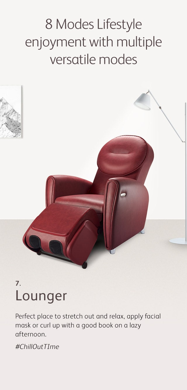 Udiva2 Massage Chair Mode 7 Lounger M