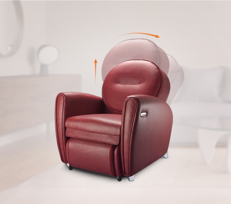 Udiva2 Massage Chair Technology 1 Backrest
