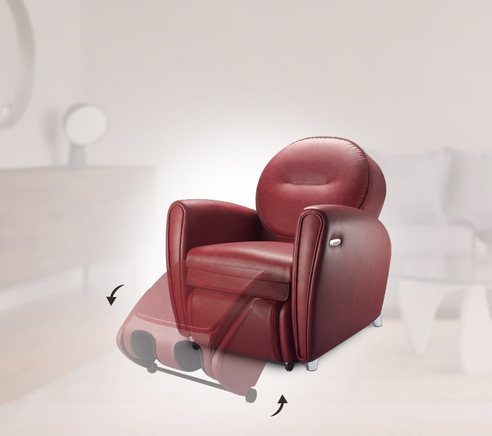 Udiva2 Massage Chair Technology 3 Convertible Footrest
