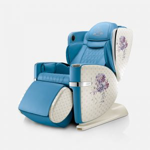 Ulove2 Massage Chair Product Image Blue Sqr 2 3