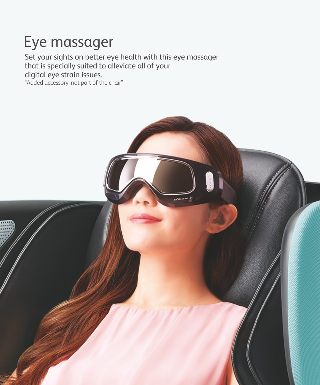 Udivine V Massage Chair Eye Massager M