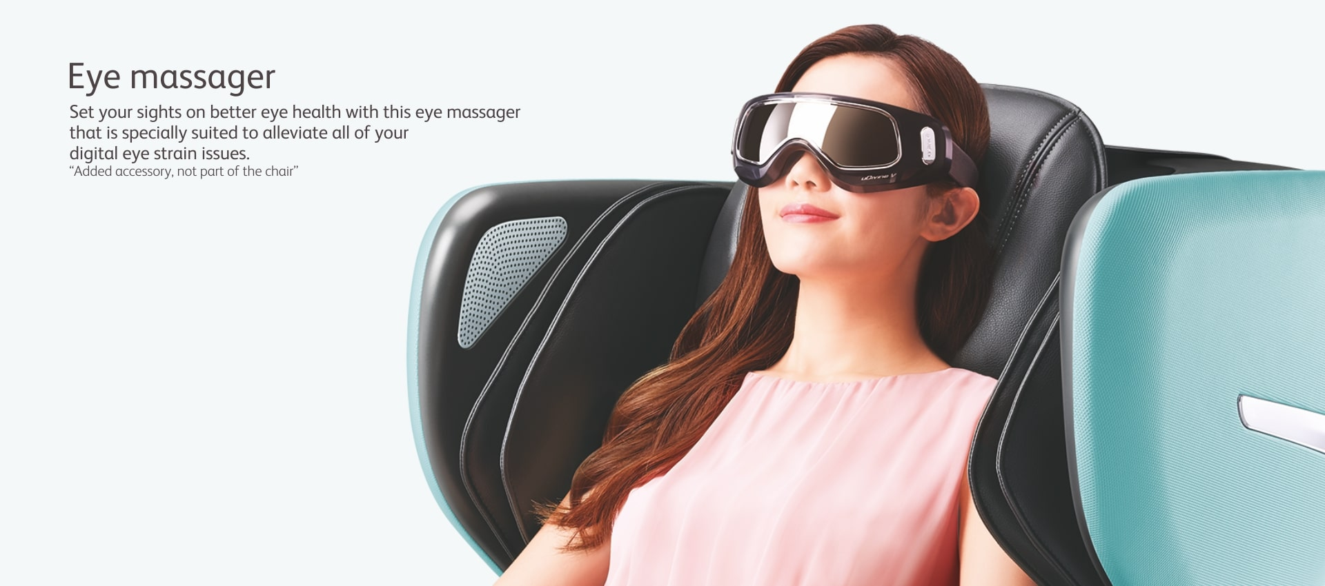 Udivine V Massage Chair Eye Massager
