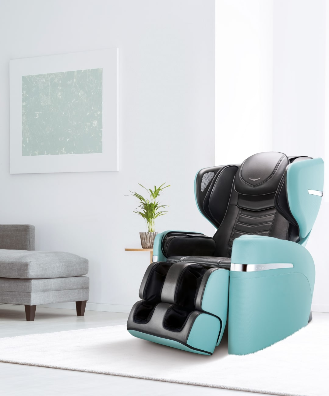 Udivine V Massage Chair Slide Blue M Min