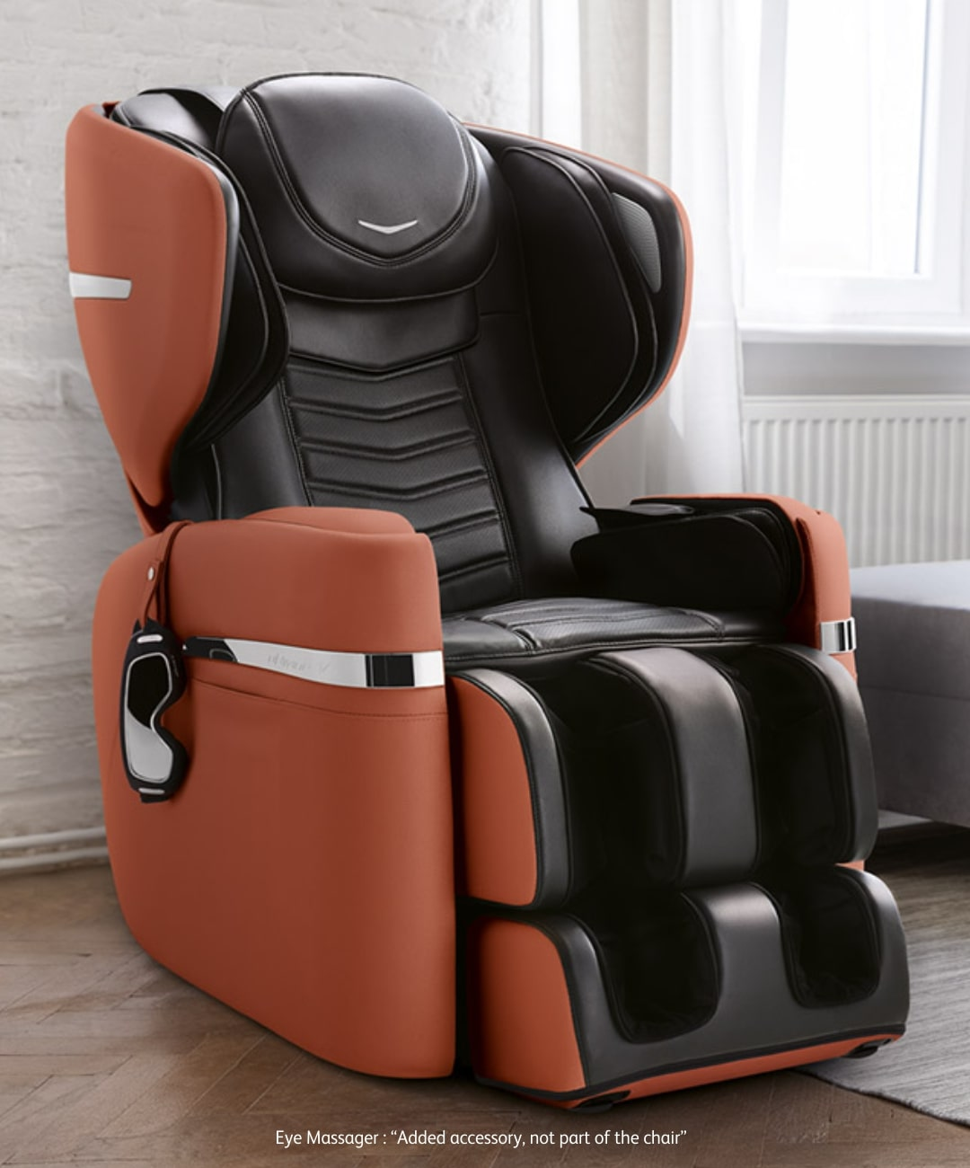 Udivine V Massage Chair Slide Copper M